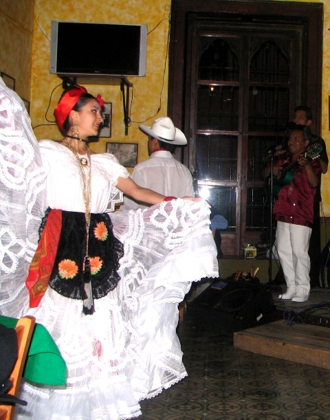 A Dancer Featured with the Group